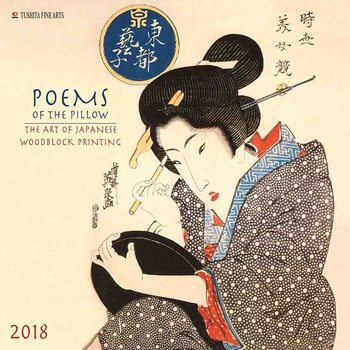 Poems of the Pillow  Calendar 2018
