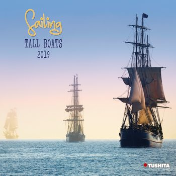 Sailing tall Boats Calendar 2019