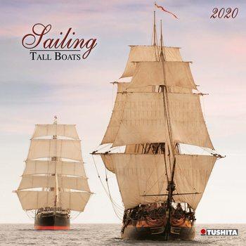 Sailing tall Boats Calendar 2020