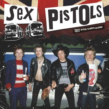 Sex Pistols Calendar 2017