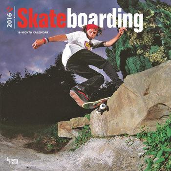 Skateboarding Calendar 2017