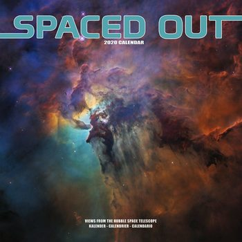 Spaced Out Calendar 2020