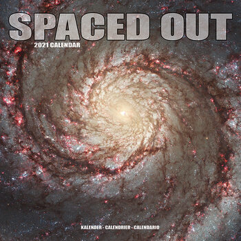 Spaced Out Calendar 2021