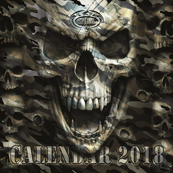 Spiral Calendar 2018