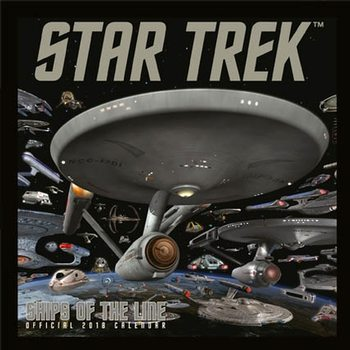 Star Trek: Ships Of Line Calendar 2018