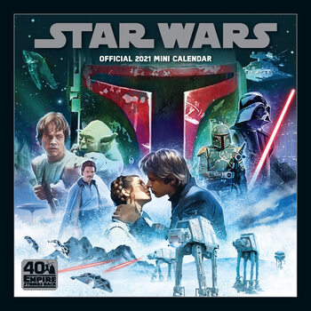 Star Wars Classic Calendar 2021