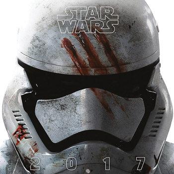 Star Wars VII Calendar 2017