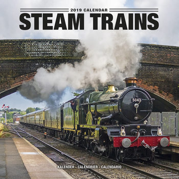Steam Trains Calendar 2019