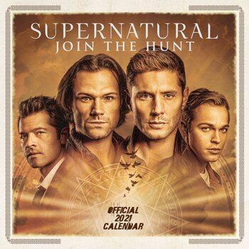 Supernatural Calendar 2021