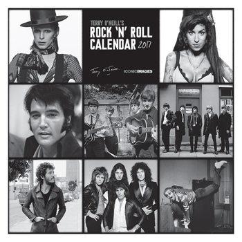 Terry O'Neill's Rock 'n' Roll  Calendar 2017