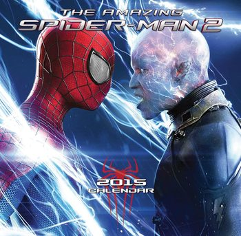 The Amazing Spiderman 2 Calendar 2021