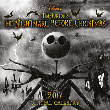 The Nightmare Before Christmas Calendar 2017