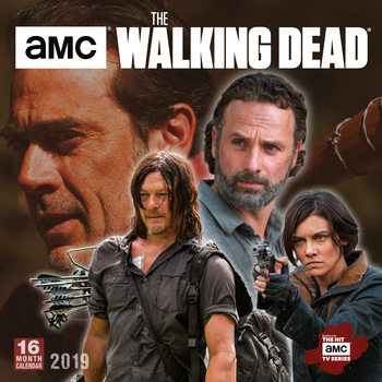 The Walking Dead Calendar 2019