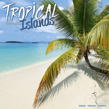Tropical Islands Calendar 2021