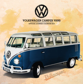VW Camper Vans Calendar 2018