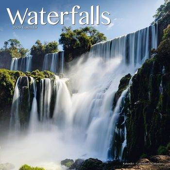 Waterfalls Calendar 2020