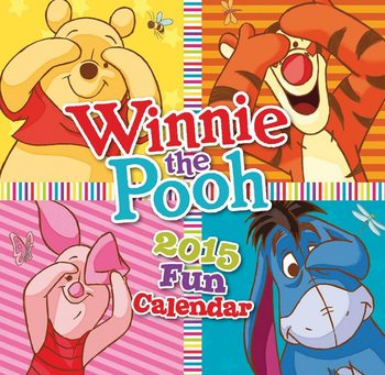 Winnie the Pooh Calendar 2016