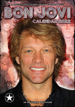Calendario 2022 Bon Jovi