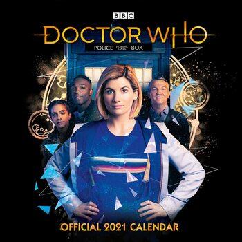 Calendario 2021 Doctor Who - The 13Th Doctor