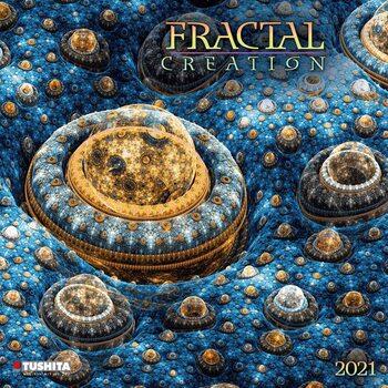 Calendario 2021 Fractal Creation
