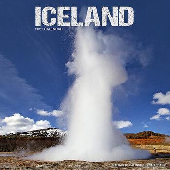 Calendario 2021 Iceland