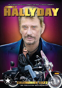 Calendario 2022 Johnny Hallyday