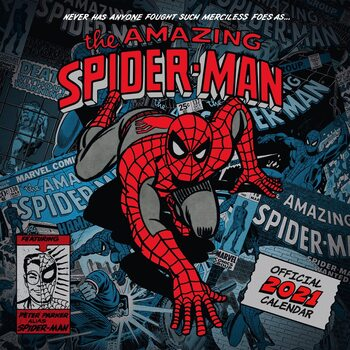 Calendario 2021 Marvel - The Amazing Spiderman