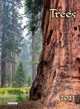Calendario 2021 Trees