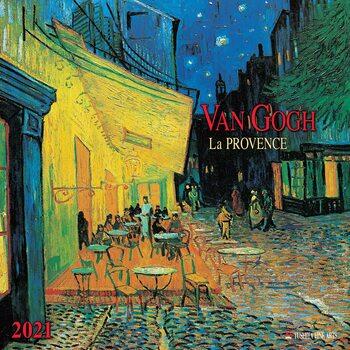 Calendario 2021 Vincent van Gogh - Colours of the Provence