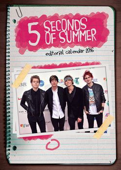 Calendario 2018  5 Seconds of Summer