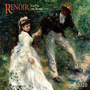 Calendario 2020  A. Renoir - La Vie en Rose