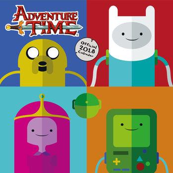 Calendario 2018 Adventure Time