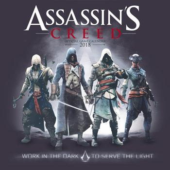 Calendario 2018 Assassins Creed Game