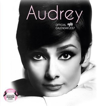 Calendario 2017 Audrey Hepburn
