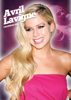 Calendario 2018  Avril Lavigne