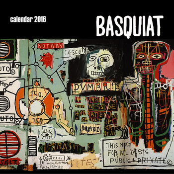 Calendario 2018  Basquiat Street Art