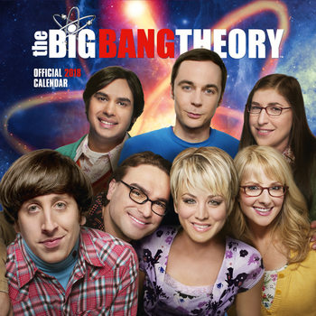 Calendario 2018 Big Bang Theory