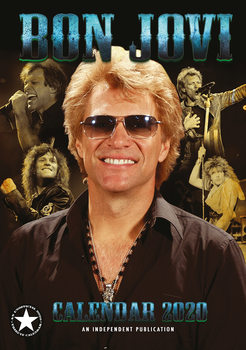 Calendario 2020  Bon Jovi