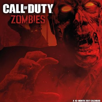 Calendario 2017 Call of Duty: Zombies