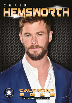 Calendario 2019  Chris Hemsworth