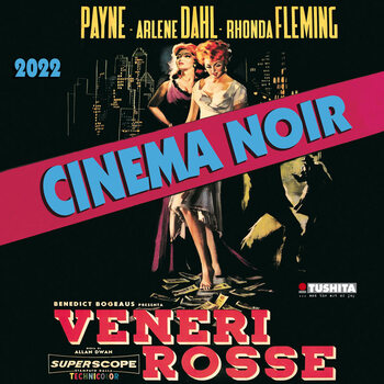 Calendario 2022 Cinema Noir