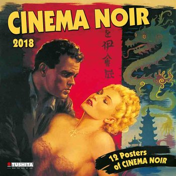 Calendario 2018 Cinema Noir