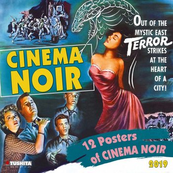 Calendario 2019  Cinema Noir