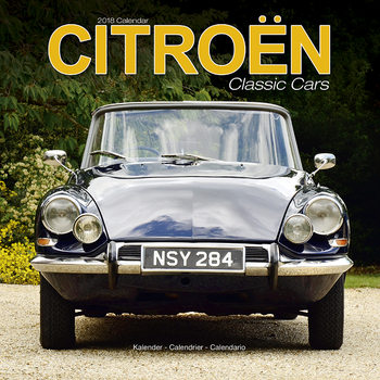 Calendario 2018 Citroen Classic Cars