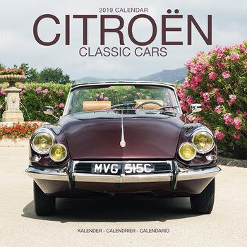 Calendario 2019  Citroen Classic Cars