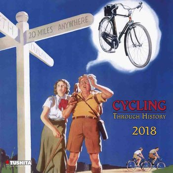 Calendario 2018 Cycling through History