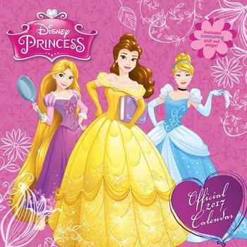 Calendario 2017 Disney - Princess