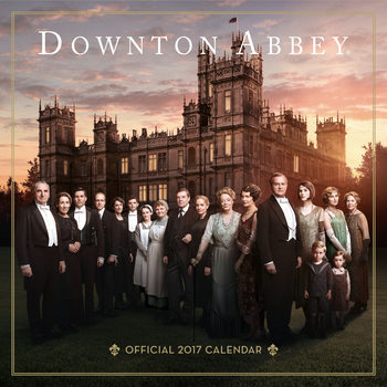 Calendario 2017 Downtown Abbey