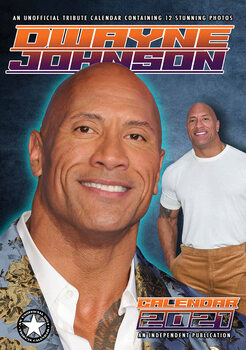 Calendario 2021 Dwayne Johnson