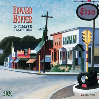 Calendario 2020  E. Hopper- Intimate Reactions